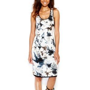 Kensie Sleeveless Printed Midi Dress